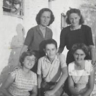 (clockwise from top left) Marta, Bardha, Kristina, Gjon, Celestina