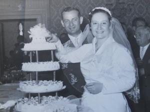 Wedding day 1957