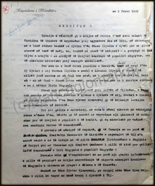 Ndue Pjetri Feb 1949.1