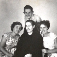 (l-r)Celestina, Gjon, Kristina and mother Marta